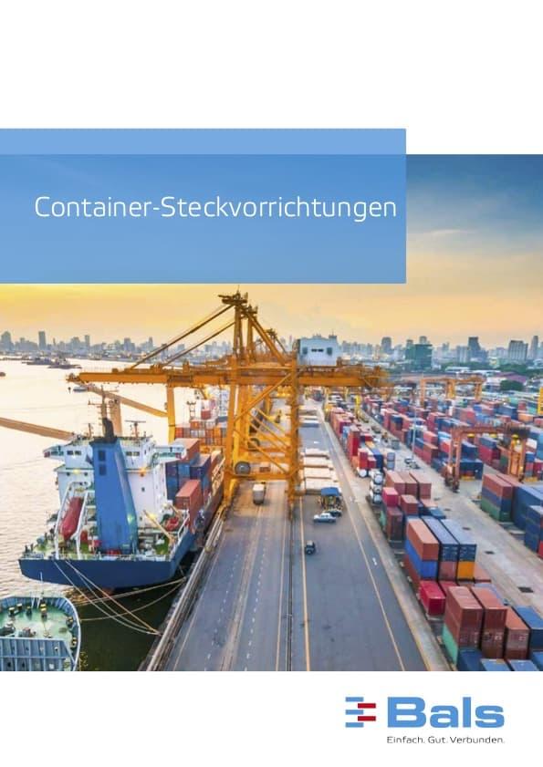 Bals Container-Steckvorrichtungen
