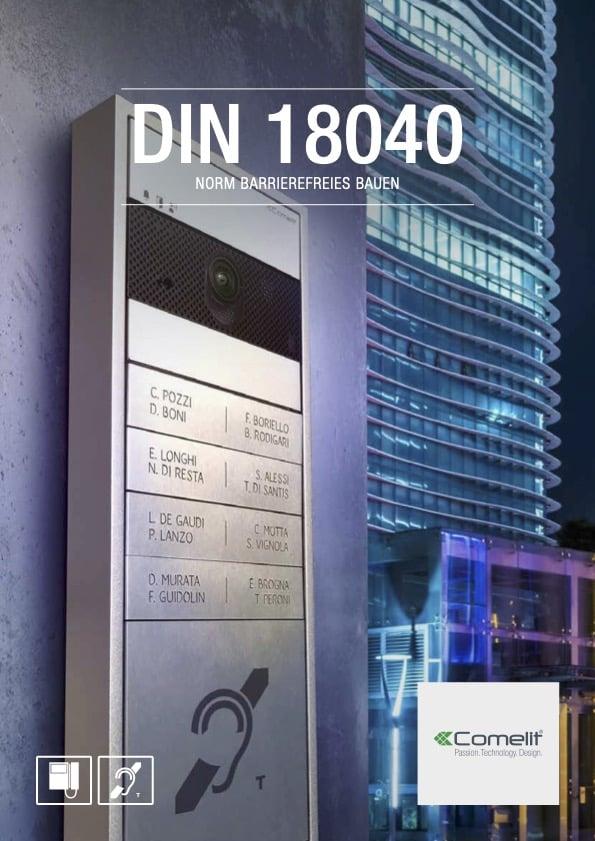 Comelit DIN 18040