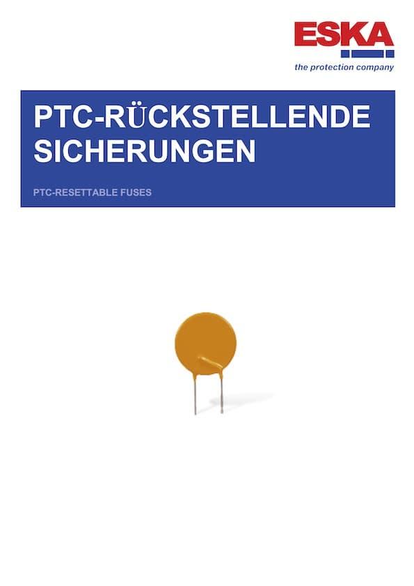ESKA PTC-Rückstellende Sicherungen