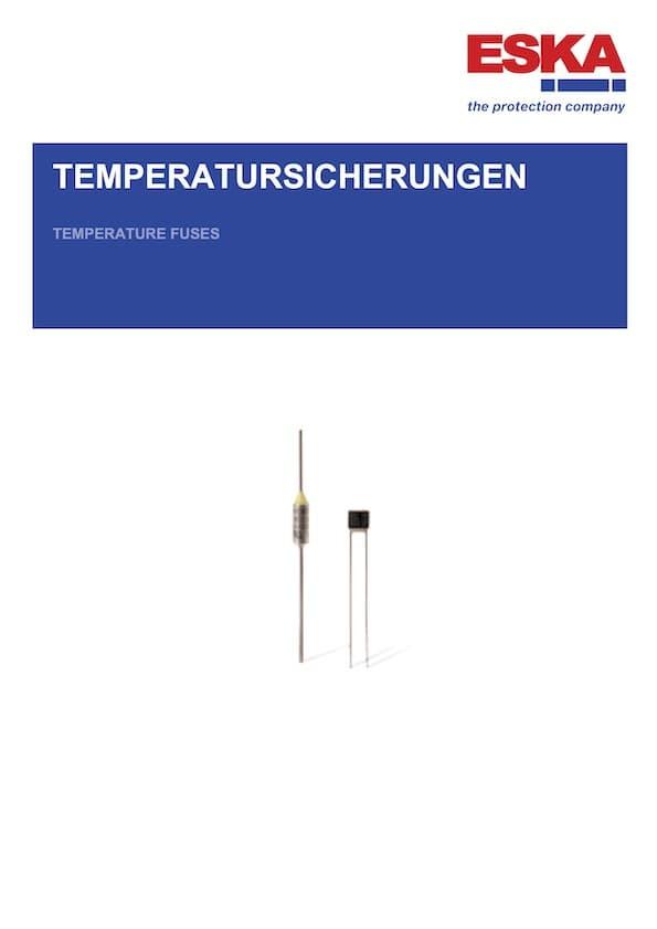 ESKA Temperatursicherungen