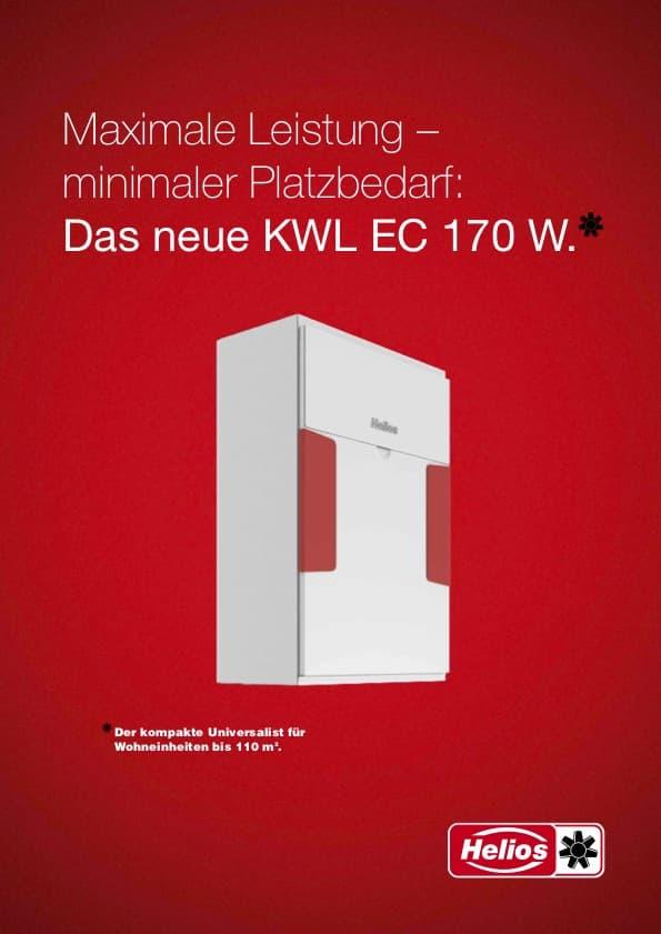 Helios KWL EC 170 W