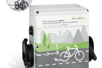 Ladestation für E-Bikes BCS von Spelsberg